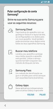 Como ativar seu aparelho - Samsung Galaxy S8 - Passo 14