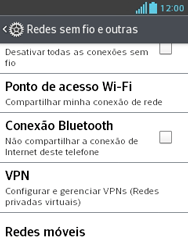 Como configurar a internet do seu aparelho (APN) - LG Optimus L3 II - Passo 4