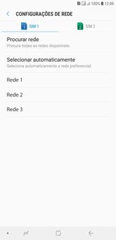 Como selecionar o tipo de rede adequada - Samsung Galaxy J4+ - Passo 9