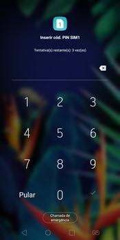 Como configurar pela primeira vez - LG K12+ - Passo 3