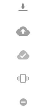 Explicação dos ícones - Motorola Moto G 5G Plus - Passo 7