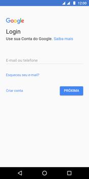 Como configurar seu celular para receber e enviar e-mails - Motorola Moto G6 Play - Passo 8