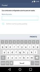 Como configurar seu celular para receber e enviar e-mails - LG K10 - Passo 10
