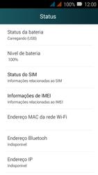 Como encontrar o número de IMEI do seu aparelho - Huawei Y3 - Passo 4