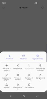 Como configurar a internet do seu aparelho (APN) - Samsung Galaxy S10 - Passo 23