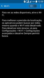 Como configurar uma rede Wi-Fi - Samsung Galaxy Grand Prime - Passo 4