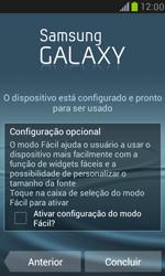 Como ativar seu aparelho - Samsung Galaxy S III Mini - Passo 16