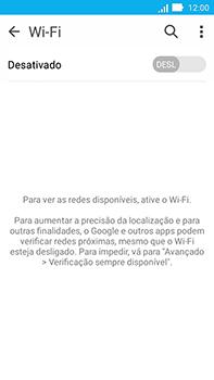 Como configurar uma rede Wi-Fi - Asus ZenFone Go - Passo 4