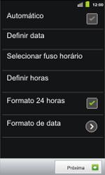 Como configurar pela primeira vez - Samsung Galaxy S II - Passo 7