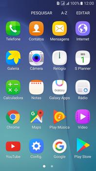Como configurar uma rede Wi-Fi - Samsung Galaxy On 7 - Passo 2