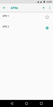 Como configurar a internet do seu aparelho (APN) - Motorola Moto G6 Play - Passo 17