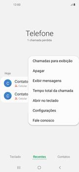 Como bloquear chamadas de um número específico - Samsung Galaxy A11 - Passo 6