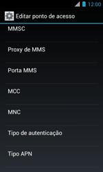 Como configurar a internet do seu aparelho (APN) - Motorola Primus Ferrari - Passo 11