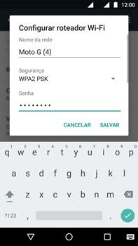Como usar seu aparelho como um roteador de rede Wi-Fi - Motorola Moto G (4ª Geração) - Passo 7