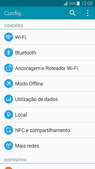 Como ativar e desativar o modo avião no seu aparelho - Samsung Galaxy Note - Passo 3
