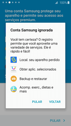 Como configurar pela primeira vez - Samsung Galaxy S6 - Passo 16