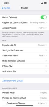 Como configurar a internet do seu aparelho (APN) - Apple iPhone XR - Passo 3
