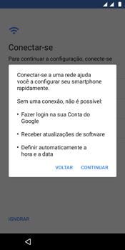 Como configurar pela primeira vez - Motorola Moto E5 - Passo 10