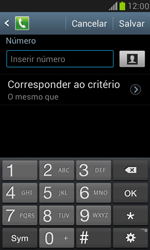 Como bloquear chamadas de um número específico - Samsung Galaxy S III Mini - Passo 9
