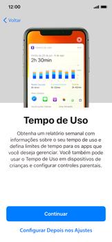 Como configurar pela primeira vez - Apple iPhone X - Passo 26