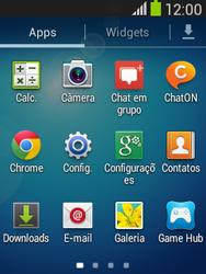 Como configurar uma rede Wi-Fi - Samsung Galaxy Pocket - Passo 2