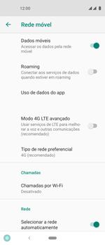 O celular não recebe chamadas - Motorola One Vision - Passo 8