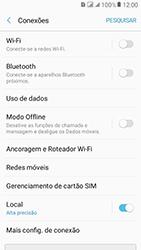 Como ativar e desativar o roaming de dados - Samsung Galaxy J2 Prime - Passo 4