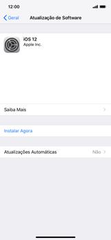 Como atualizar o software do seu aparelho - Apple iPhone XR - Passo 6