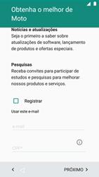 Como ativar seu aparelho - Motorola Moto G5 Plus - Passo 18