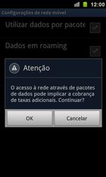 Como configurar a internet do seu aparelho (APN) - Samsung Galaxy S II - Passo 6