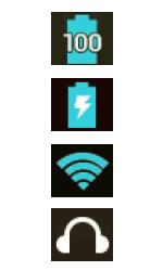 Explicação dos ícones - LG G2 Lite - Passo 7