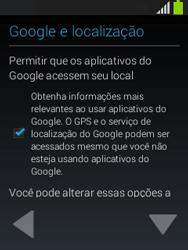 Como configurar pela primeira vez - Samsung Galaxy Pocket - Passo 10