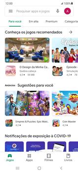 Como baixar aplicativos - Samsung Galaxy S21 Ultra 5G - Passo 4