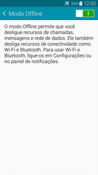 Como ativar e desativar o modo avião no seu aparelho - Samsung Galaxy Note - Passo 5