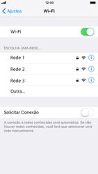 Como configurar uma rede Wi-Fi - Apple iPhone 6 - Passo 4