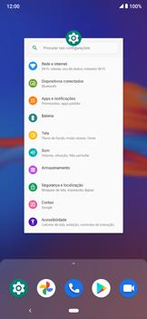 Como conectar à internet - Motorola Moto E6 Plus - Passo 14