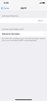 Como configurar seu celular para receber e enviar e-mails - Apple iPhone X - Passo 22