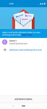 Como configurar seu celular para receber e enviar e-mails - Motorola One Vision - Passo 21