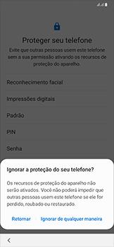 Como configurar pela primeira vez - Samsung Galaxy A50 - Passo 15
