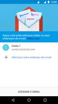 Como configurar seu celular para receber e enviar e-mails - Motorola Moto Z2 Play - Passo 20