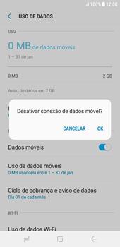 Como ativar e desativar uma rede de dados - Samsung Galaxy J4 Core - Passo 6