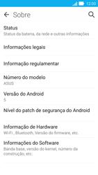 Como encontrar o número de IMEI do seu aparelho - Asus ZenFone 2 - Passo 4