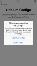 Como configurar pela primeira vez - Apple iPhone 7 - Passo 14
