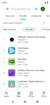 Como baixar aplicativos - Motorola Moto G7 Play - Passo 8