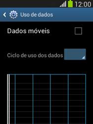 Como ativar e desativar uma rede de dados - Samsung Galaxy Pocket - Passo 6