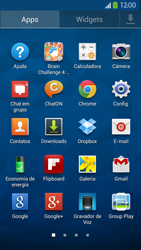 Como configurar uma rede Wi-Fi - Samsung Galaxy S IV - Passo 2