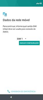 Como configurar pela primeira vez - Motorola One Vision - Passo 7