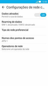 Como configurar a internet do seu aparelho (APN) - Asus ZenFone Go - Passo 5