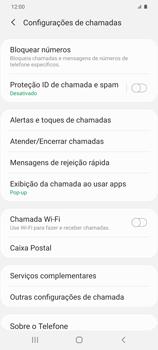Como bloquear chamadas de um número específico - Samsung Galaxy S20 Plus 5G - Passo 7
