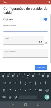 Como configurar seu celular para receber e enviar e-mails - Motorola One - Passo 17